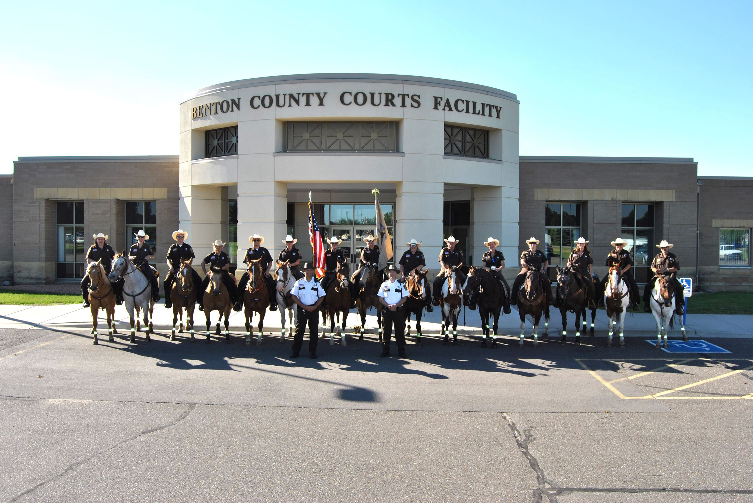Benton County Mounted Patrol (BCMP) Group