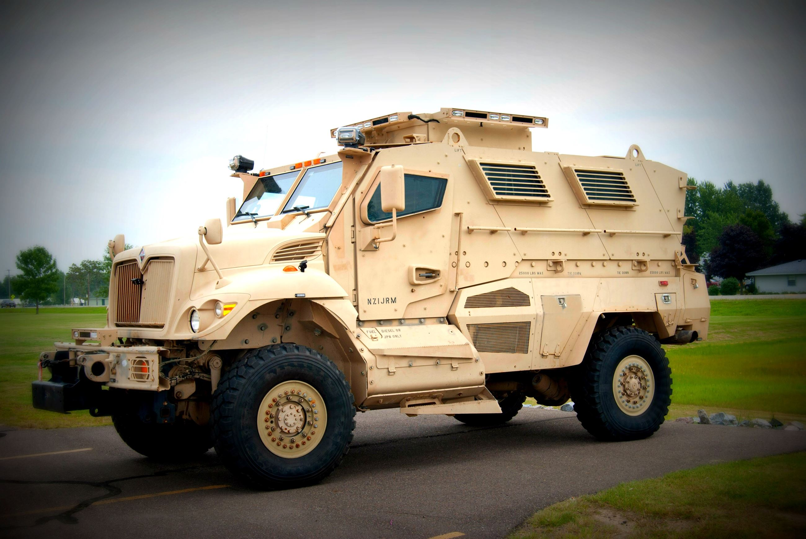 Image of Mine-Resistant Ambush Protected (MRAP) Vehicle