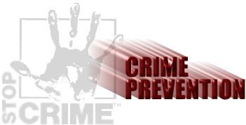 Stop Crime - Crime Prevention Logo